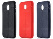 قاب ژله ای طرح چرم سامسونگ Auto Focus Jelly Case Samsung Galaxy J3 Pro