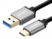 کابل تبدیل یو اس بی به تایپ سی یوگرین Ugreen US187 USB 3.0 Type-A To Type C Cable 1M