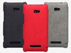 کیف چرمی HTC 8X مارک Nillkin