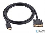 کابل تبدیل اچ دی ام آی به دی وی آی یوگرین Ugreen HD128 HDMI to DVI (24+1) Cable 1.5M