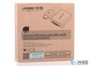 مبدل اچ دی ام آی به وی جی ای و صدا و میکرو یو اس بی یوگرین Ugreen MM103 HDMI to VGA & 3.5MM Audio & Mirco USB Converter