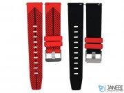 بند سیلیکونی طرح دار ساعت هوشمند سامسونگ Samsung Gear S3 Silicon Band 2 Color