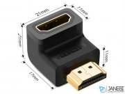 آداپتور اچ دی ام آی یوگرین Ugreen 20109 HDMI Male to Female Adapter