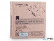 کابل مبدل دیسپلی پورت به وی جی ای یوگرین Ugreen Display Port Male to VGA Female Converter Cable 15cm