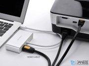 مبدل مینی دیسپلی پورت به اچ دی ام آی و وی جی ای و دی وی آی یوگرین Ugreen MD109 Mini Display Port to HDMI+VGA+DVI Converter