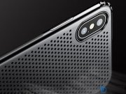 محافظ ژله ای بیسوس آیفون Baseus Small Hole Case iPhone X