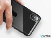 قاب محافظ بیسوس آیفون Baseus Card Pocket Case Apple iPhone X