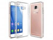 محافظ شیشه ای - ژله ای سامسونگ Samsung Galaxy C7 Transparent Cover