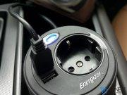 شارژر فندکی و اینورتر فنجانی خودرو  Energizer Cup Inverter 180W