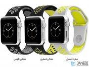 بند سیلیکونی اپل واچ طرح نایک اسپرت Apple Watch Nike Sport Band 42mm