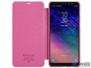 کیف محافظ نیلکین سامسونگ Nillkin Sparkle Leather Case Samsung Galaxy A8 Plus 2018