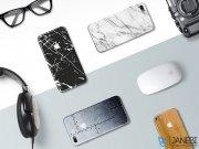 برچسب محافظ طرح دار راک آیفون Rock Black Marble Creative Protector Apple iPhone 7