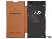 کیف چرمی نیلکین سونی Nillkin Qin Leather Case Sony Xperia XA2 Ultra