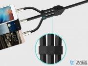 کابل سه سر توتو دیزاین Totu Design 3-In-1 Zinc Alloy Cable 1.5m