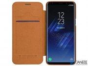 کیف چرمی نیلکین سامسونگ Nillkin Qin Leather Case Samsung Galaxy S9