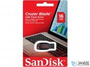 فلش مموری سندیسک Sandisk Cruzer Blade USB 2.0 Flash Memory 16GB
