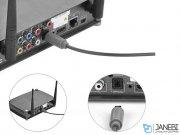 کابل انتقال صدا نوری یوگرین Ugreen AV122 10771 Toslink Optical Audio Cable 3M