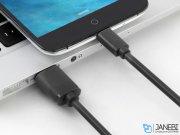 کابل شارژ و انتقال داده یو اس بی به میکرو یو اس بی یوگرین Ugreen US125 Micro USB Male to USB Male Cable 0.5M