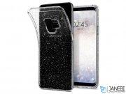 قاب محافظ اسپیگن سامسونگ Spigen Liquid Crystal Glitter Case Samsung Galaxy S9