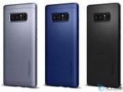 قاب محافظ و محافظ صفحه شیشه ای اسپیگن سامسونگ Spigen Thin Fit 360 Case Samsung Galaxy Note 8