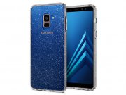 محافظ ژله ای اسپیگن سامسونگ Spigen Liquid Crystal Glitter Case Samsung A8 2018