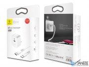 شارژر دیواری سریع بیسوس Baseus Funzi Type-C PD And USB Quick Charger