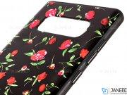 قاب محافظ سامسونگ طرح گل XO+ Flower Case Samsung Galaxy Note 8