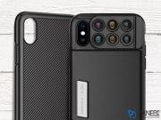 قاب لنز 6 تایی مومکس آیفون ایکس Momax 6 In 1 X-Lens Case Apple iPhone X