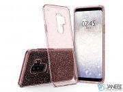 محافظ ژله ای اسپیگن سامسونگ Spigen Liquid Crystal Glitter Case Samsung Galaxy S9 Plus