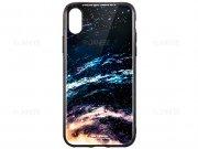 قاب محافظ طرح سیاره آیفون WK Design Planet Case Apple iPhone X
