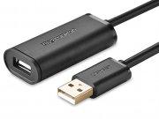 کابل افزایش طول یو اس بی یوگرین Ugreen USB 2.0 Active Extension Cable With Chipset 10M