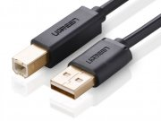 کابل پرینتر یوگرین Ugreen US135 20847 USB 2.0 AM To BM Print Cable 2M