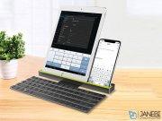 کیبورد بلوتوثی تاشو راک Rock R4 Multi-function Rollable Bluetooth Keyboard