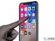 محافظ صفحه نمایش شیشه ای اسپیگن آیفون Spigen Screen Protector GLAS.tR Slim Apple iPhone X