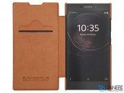 کیف چرمی نیلکین سونی Nillkin Qin Leather Case Sony Xperia L2