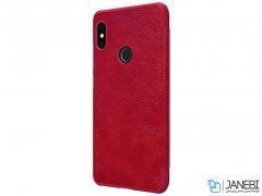 کیف چرمی نیلکین شیائومی Nillkin Qin Leather Case Xiaomi Redmi Note 5 Pro