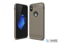 محافظ ژله ای آیفون Carbon Fibre Case Apple iPhone X