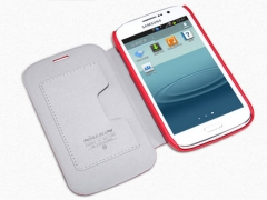 کیف چرمی نیلکین سامسونگ Nillkin Leather Case Samsung Galaxy Grand