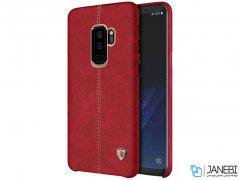 قاب محافظ چرمی نیلکین سامسونگ Nillkin Englon Samsung Galaxy S9 Plus