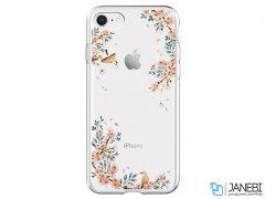 قاب محافظ اسپیگن آیفون Spigen Crystal Shell Blossom Case Apple iPhone 7/8