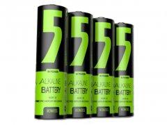 باتری قلمی روموس پک 4 تایی Romoss Alkaline Battery 5M Power