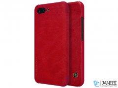 کیف چرمی نیلکین هواوی Nillkin Qin Leather Case Huawei Honor 10