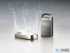 فلش مموری اپیسر Apacer AH156 USB Flash Memory - 64GB
