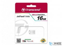 فلش مموری ترنسند Transcend 16GB JetFlash JF510S USB 2.0 Flash Drive