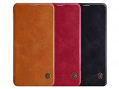 کیف چرمی نیلکین سامسونگ Nillkin Qin leather case Samsung Galaxy J7 Duo