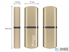فلش مموری ترنسند Transcend JetFlash JF820 USB 3.0 Flash Drive 64GB