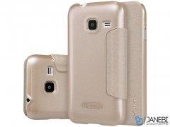 کیف نیلکین سامسونگ Nillkin Sparkle Leather Case Samsung Galaxy J1 Mini