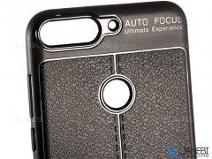 قاب ژله ای طرح چرم هواوی Auto Focus Jelly Case Huawei Y7 Prime 2018