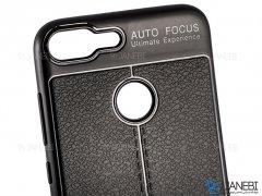 قاب ژله ای طرح چرم هواوی Auto Focus Jelly Case Huawei Honor 9 Lite