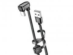 کابل شارژ تایپ سی راک Rock U-Shaped Metal Type-C Charge & Sync Cable